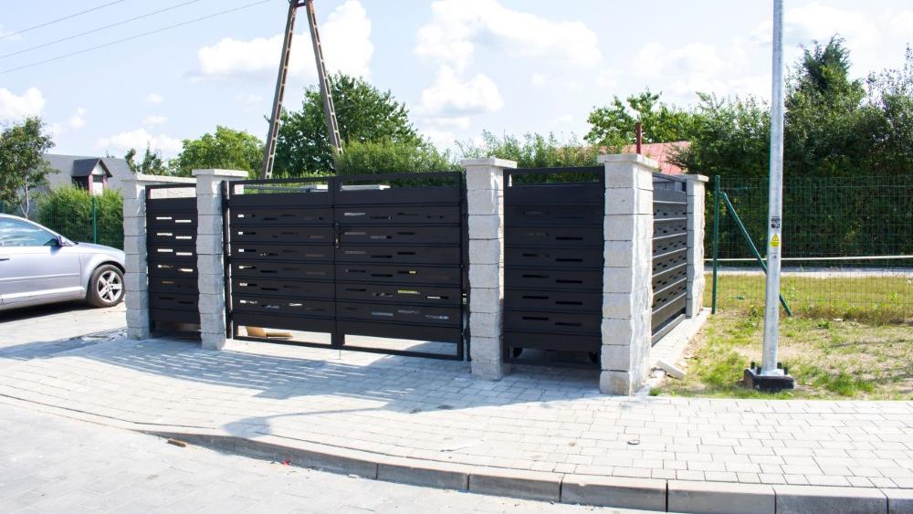 inne zastosowania paneli ogrodzeniowych