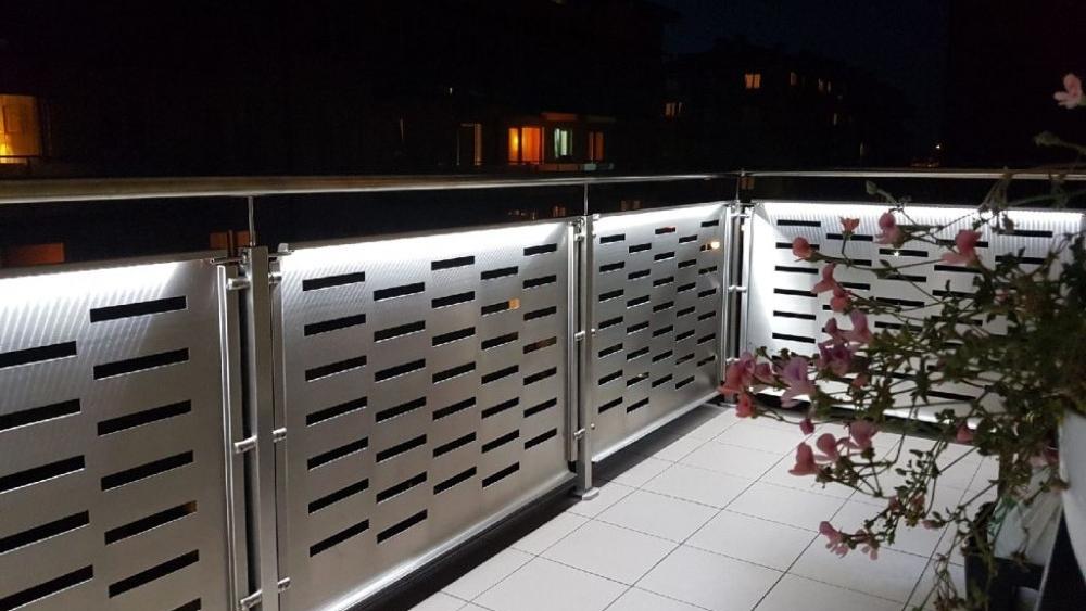ogrodzenia nocą